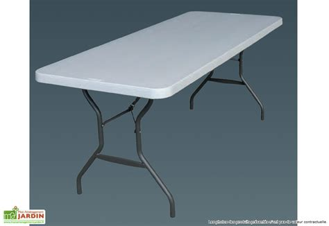 table de cuisine pliable awesome table de jardin plastique pliable gallery