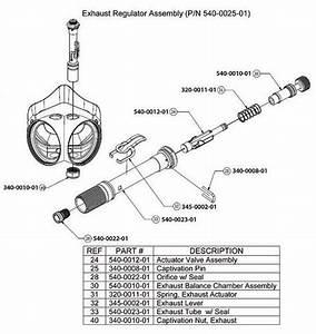 Amron Exhaust Actuator Spring