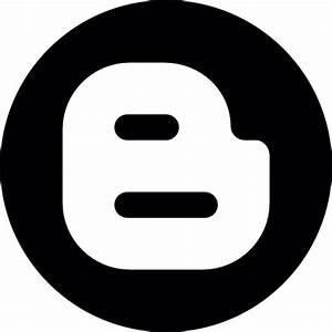 Blogger circle Icons | Free Download