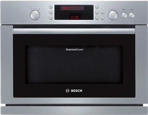 bosch countertop microwave built in quantum speed microwave combi oven from bosch