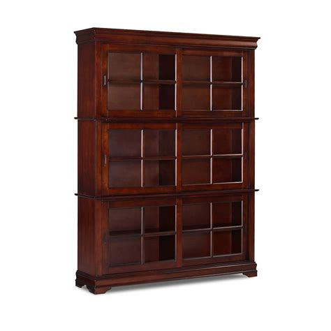 Oak Barrister Bookcase To Organize Your Books