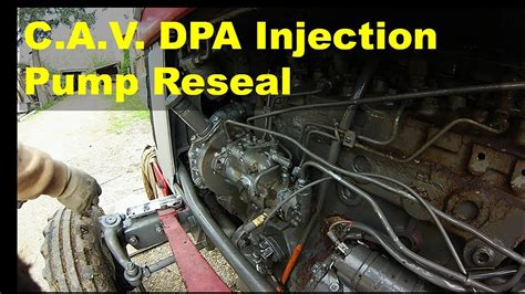 Perkin Fuel Injector Diagram by Cav Dpa Injection Reseal