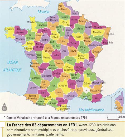 Carte De Par Departement 2018 by D 195 169 Partements Fran 195 167 Ais
