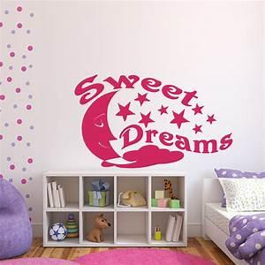 Sweets Online De : sweet dreams f r schlafzimmer kinderzimmer wandtattoo sunnywall online shop ~ Markanthonyermac.com Haus und Dekorationen