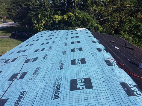 gaf deck armor metal roof gaf deck armor pro1 construction