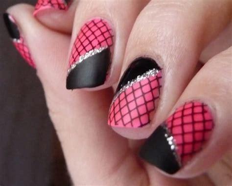 astonishing fishnet nail designs images sheideas