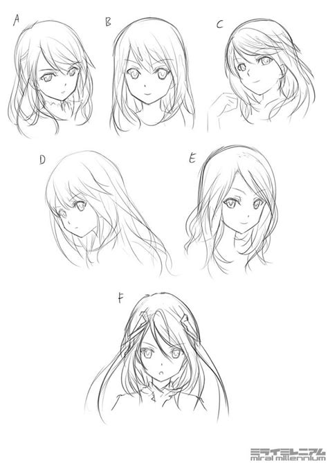 anime sketches character designs share  image id