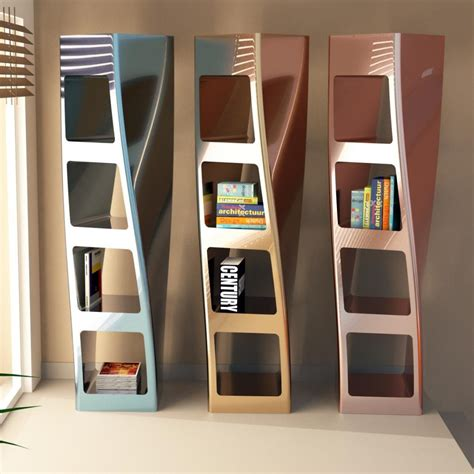 librerie a colonna collins libreria a colonna da terra design moderno