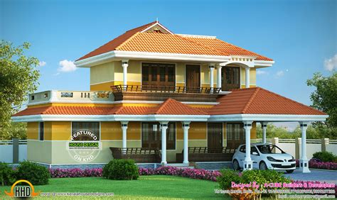 kerala model architecture house kerala home design  floor plans
