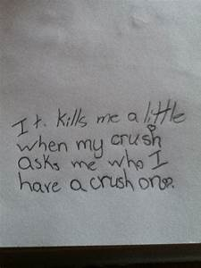 Quotes About Crushes. QuotesGram