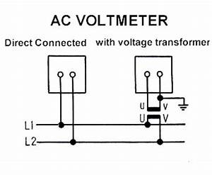 ac voltmeter circuit diagram With dc voltmeters