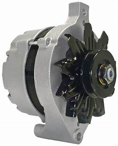 Ford 1g Alternator Chrome External Reg 100a