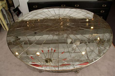round mirrored dining room table vintage round mirrored dining table with two occasional