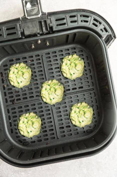 air fritters zucchini fryer