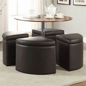 dark brown coffee table set with ottoman modern coffee With dark brown coffee table set