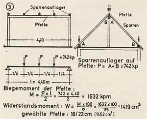 Schnittholz Berechnen : firstpfette querschnitt berechnen heimwerker ~ Themetempest.com Abrechnung