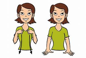 dress With how to say bathroom in sign language