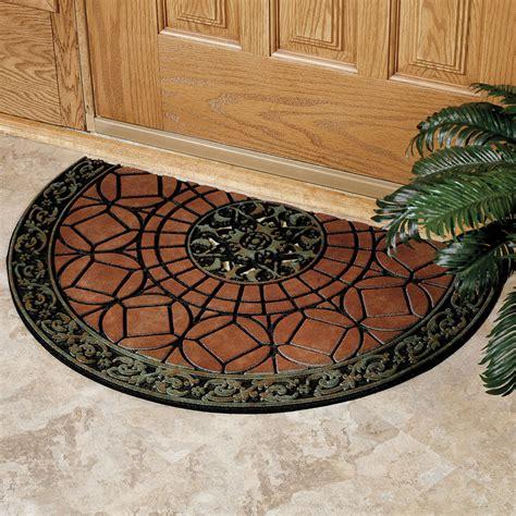 Decorative Doormats by Decorative Rubber Door Mats Household Tips