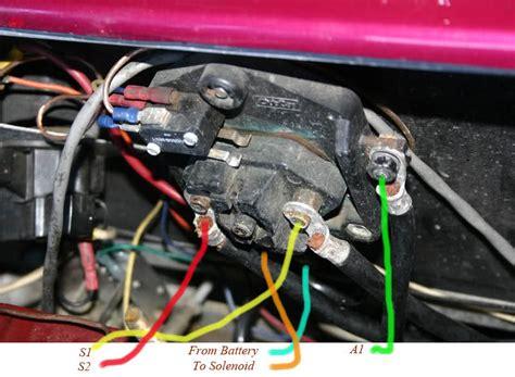 Club Car D Wiring Diagram by Club Car 94 Wiring Help