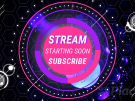 placeit twitch stream starting  screen loop