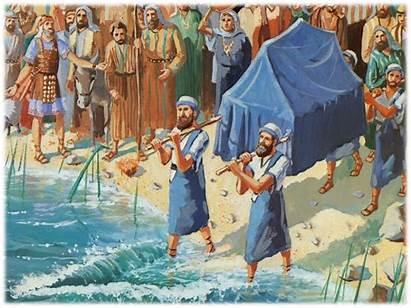 Joshua Jericho God Sword Walls Drawn Bible
