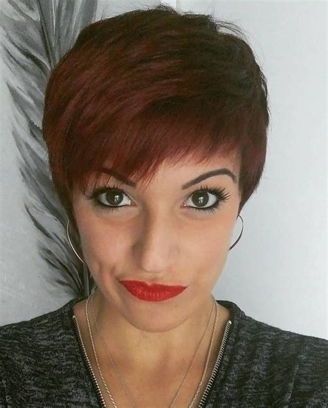 21 Gorgeous Short Pixie Cuts with Bangs - Pretty Designs