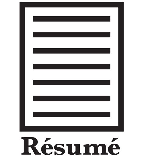 resume icon png 19031 free icons and png backgrounds