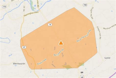 power outages reported  rockingham county news