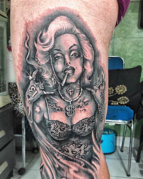 marilyn monroe tattoo designs meanings