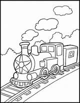 Train Steam Coloring Engine Drawing Pages Getdrawings Simple sketch template