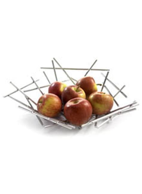 Alessi FC02 Blow Up Wire Fruit Holding Basket by Fratelli