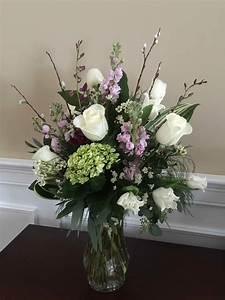 Vase, Arrangements, Sympathy