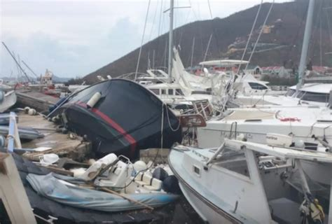 Hurricane Irma Boats Destroyed by Hurricane Irma Uk Marine Industry Comes To The Aid Of