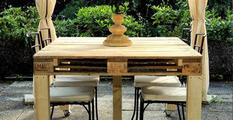 Costruire Un Tavolo Coi Bancali by Come Fare Un Tavolo Coi Pallet Decorazioni Per La Casa