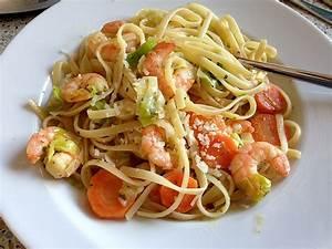 Pasta Mit Garnelen : spaghetti cambaretti lachs lauch garnelen sauce von sandy2509 ~ Orissabook.com Haus und Dekorationen