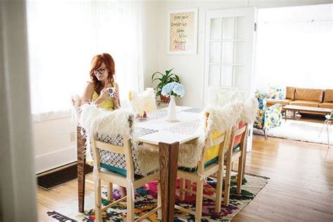 eclectic dining rooms  boho style