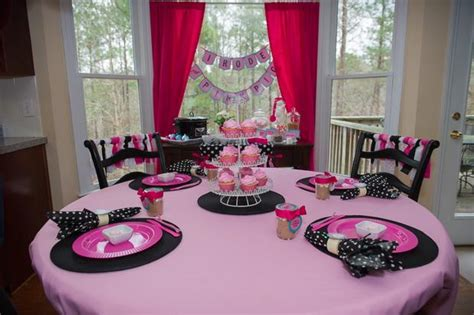 pink pig party baby shower ideas themes games
