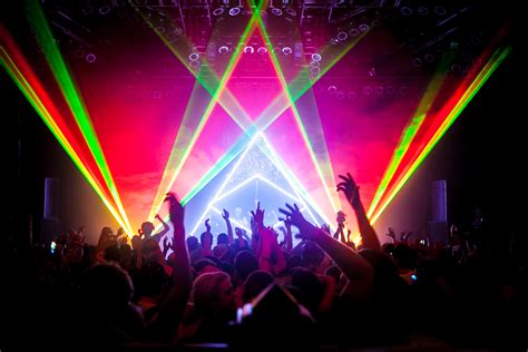 laser light display midnight conspiracy laser light show heavy bass