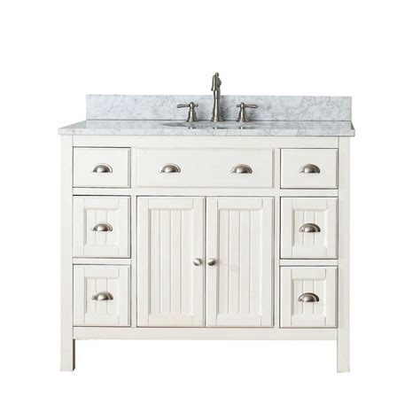 42 inch vanity cabinet only avanity hamilton 42 inch w vanity in french white with