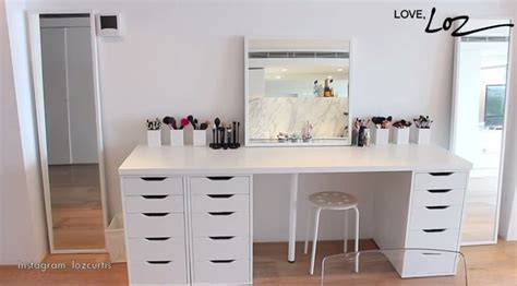 The Best Makeup Vanity System // How To Organize Your