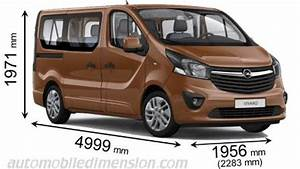 Dimension Opel Vivaro : dimensions of opel vauxhall cars showing length width and height ~ Gottalentnigeria.com Avis de Voitures