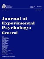 journal  experimental psychology general