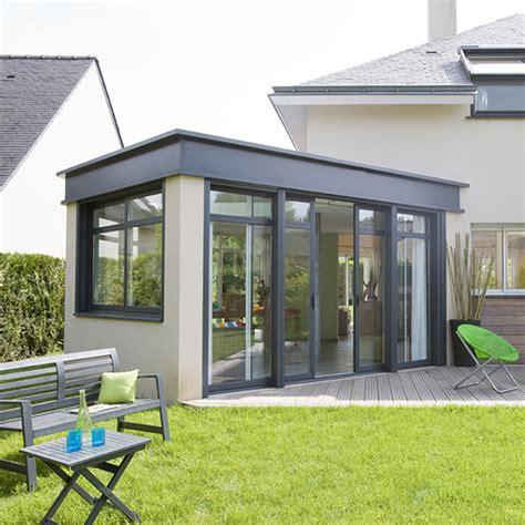 veranda moderne toit plat 28 images d 233 co veranda toit arrondi bois clermont ferrand 39