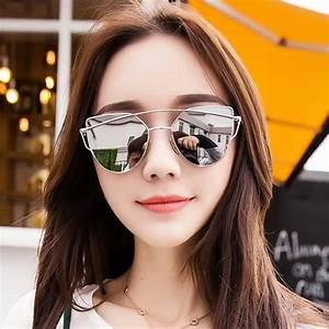 Lunette De Soleil Femme Solde : sharphy lunette de soleil femmes marque designer argent ronde jolie magnifique cadres argent ~ Farleysfitness.com Idées de Décoration