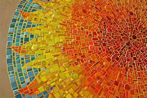 exquisite mosaic art created  award winning artist sonia