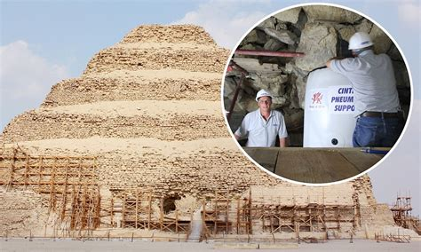 crash test mummies egypts oldest pyramid saved