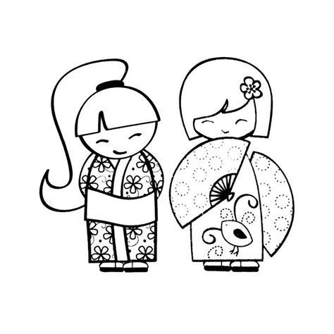 chambre fille 9 ans coloriage kokeshi a imprimer gratuit