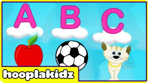 Best Abc Alphabet Song From Hooplakidz Youtube