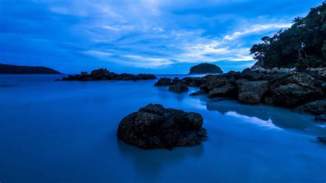 Amazing Blue Water At Sunset Wallpaper  Nature Wallpapers