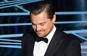 PICTURED: Leonardo DiCaprio's Oscars was pretty low-key